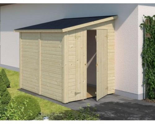 EXTENTION ABRI DE JARDIN 3.40M²