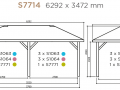 CARPORT 21M²