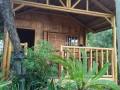 Chalet en bambou