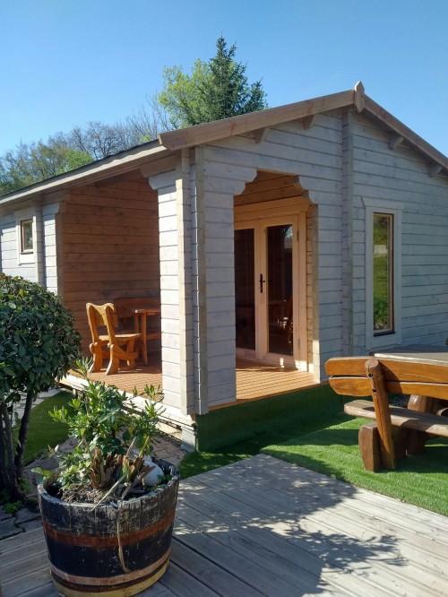 CHALET HABITABLE DE 20M² SUR MESURE - Abris de jardin en bois ...