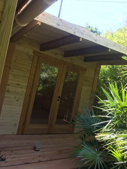 extention abri de jardin - Nos Construction en bois Antibes Nice St ...